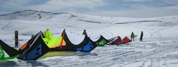 snow 4 SnowKite Course