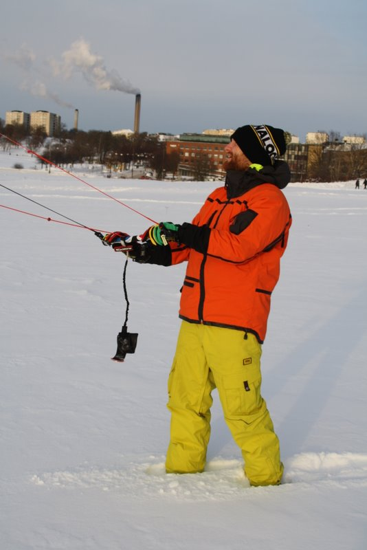 Uros Marolt - snow kite instructor