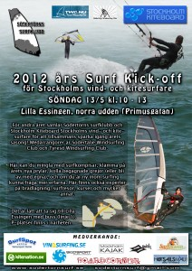 Kitesurf kick off